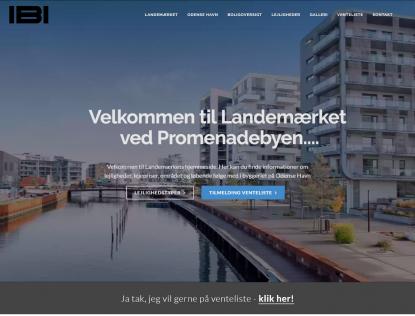 Nyt projekt website til IBI